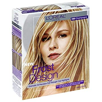 Amazoncom Loreal Frost And Design Pull Through Cap Highlight Kit