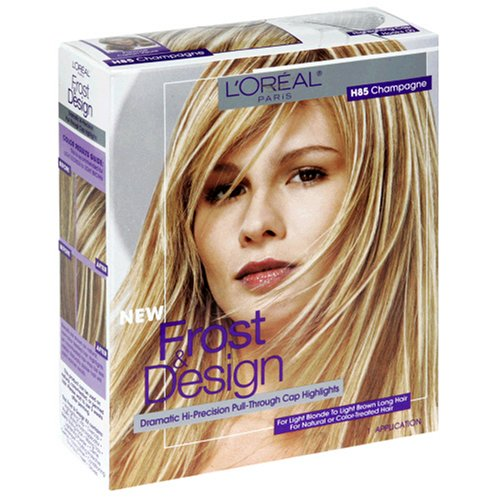 Frost glow by revlon highlighting blonde kit to light brown loreal paris frost and design highlights champagne pmusecretfo Choice Image