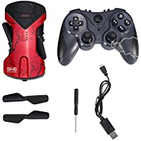 Wifi RC Quadcopter Drone 2.4GHz Mini Drone with Foldable Arms(Red without Camera)