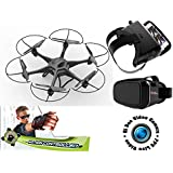19 XL RC Drone Quadcopter w/WiFi FPV HD Camera VR Headset And Motion Control