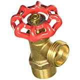 LDR 020 7204 3/4-Inch MIP by 3/4-Inch Hose Heavy Duty Brass Boiler Drain Valve