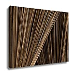Ashley Canvas Close Up Broom Thai Traditional Hand Craft Mad By Coconut Branch Show Detail Of, Home Office, Ready to Hang, Sepia 20x25, AG6579478