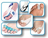 Utrax Hallux Valgus Orthotics Set Bunion Toe Separator Big Toe Night Splint Straightener Protector Foot Pain Relief