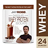 JAY ROBB PROTEIN WHEY CHOCOLATE, 24 OZ