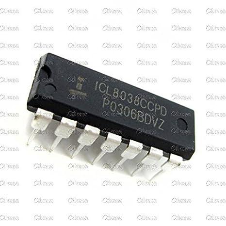 50 PCS ICL8038 ICL8038CCPD INTERSIL IC OSCILL GEN//VOLT CONTROL 14DIP NEW