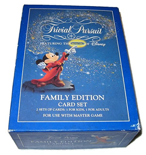 Trivial Pursuit Family Edition Card (Disney New Card Game)