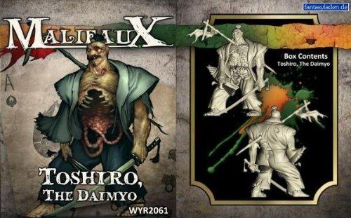Malifaux: Resurrectionists/Ten Thunders - Toshiro, The Daimyo