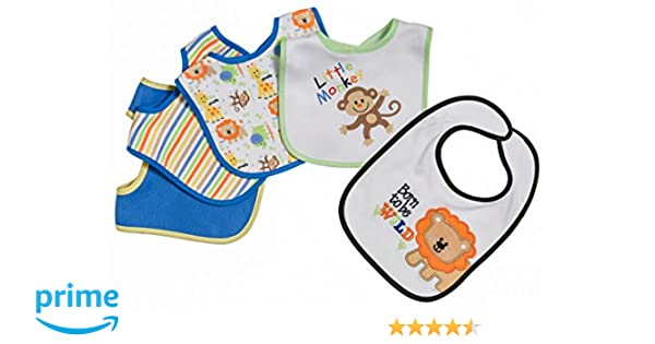 "Baby Bandana Drool Bibs Set 4-Pack Organic Cotton /& Snaps/""Best Friends/"""