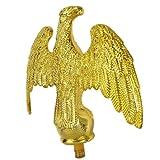 Finial Gold Eagle Pole Top