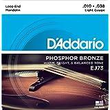 D'Addario J73 Phosphor Bronze Mandolin Strings - Light 10-38