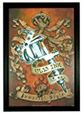 "UL13 Ink by Alchemy, Immortal Style Tattoo 24""x36"" Framed Art Poster (Z1-1018)"