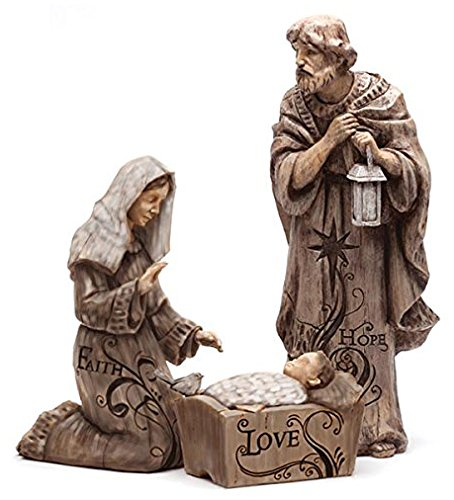 Gifted Living Mary, Joseph and Baby Jesus Large Nativity ...