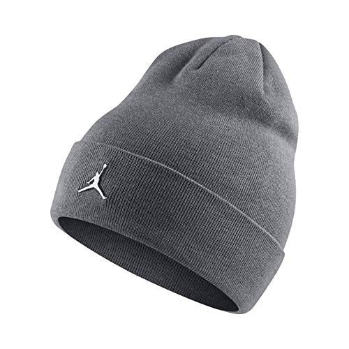 c20f2748 best price nike air jordan metal ingot cuffed beanie adult aa1297 one size  carbon heather b1789