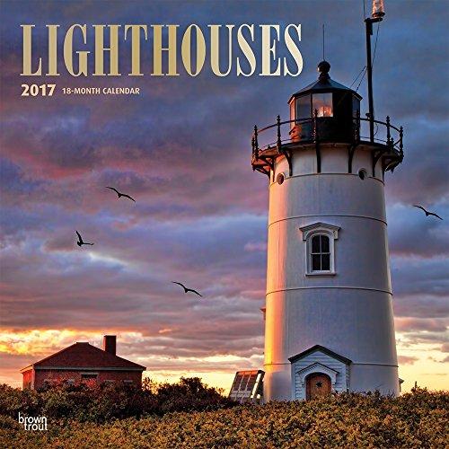 Lighthouses 2017 Wall Calendar 12