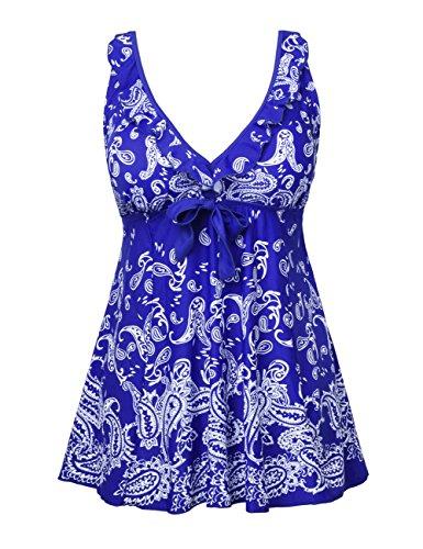 Firpearl Womens Swimdress Tankini Swimsuit product image