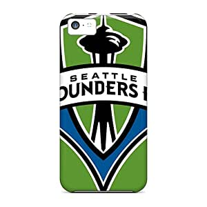 Premium Seattle Sounders Heavy-duty Protection Cases For Iphone 5c