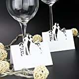 Name Place Card Wedding Party Table Decoration Bride Groom - 50pcs