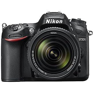 Nikon D7200 24.2 MP Digital SLR Camera (Black) with AF-S 18-140mm VR Kit Lens and 16GB Card, Camera Bag 20