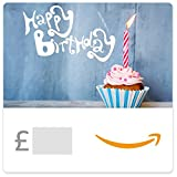 Happy Birthday (Candle with Cupcake) -  Amazon.co.uk eGift Vouch