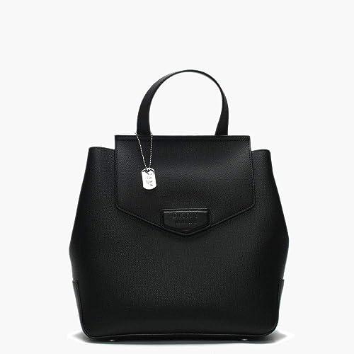 DKNY Donna Karan New York - Bolso al hombro para mujer Negro Negro 25 x 28  x 11 cm  Amazon.es  Zapatos y complementos b6be2157a2fd