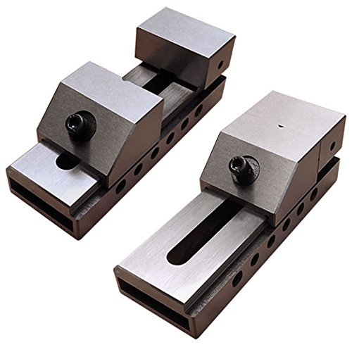 (2'' Toolmaker Screwless Vise Grinding Ground Steel Precision Milling Bench Vice)