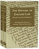The History of English Law Before the Time of Edward I. Second Edition, Pollock, Frederick and Maitland, Frederic William, 1584777184