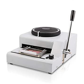 TOPQSC Máquina de Estampado 72 Caracteres Impresora de ...