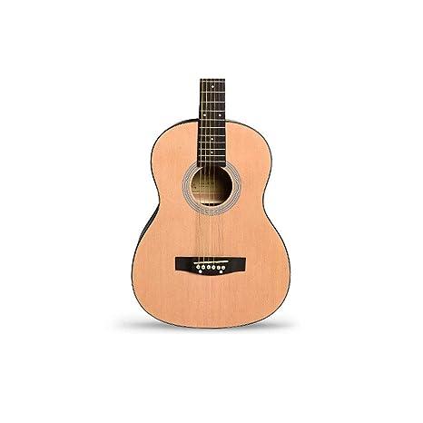 Instrumento de guitarra 34.36 pulgadas folk clásico infantil ...