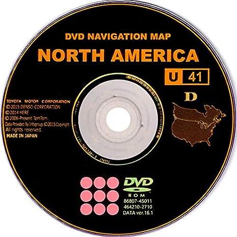 Amazon.com: 2008 2009 2010 Toyota Highlander 2017 Navigation East ...
