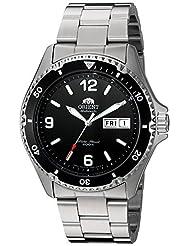 Orient Men's FAA02001B9 Mako II Analog Automatic Hand-Winding Silver Watch by Orient