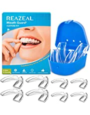 Mouth Guard for Grinding Teeth and Clenching Anti Grinding Teeth Custom Moldable Dental Night Guard Dental Night Guards to Prevent Bruxism/Pack of 8