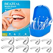 Mouth Guard for Grinding Teeth and Clenching Anti Grinding Teeth Custom Moldable Dental Night Guard Dental Night Guards…