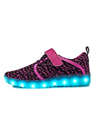 2017 Fashion LED Light Shoes Breathable Sneakers Casual Shoes for Children