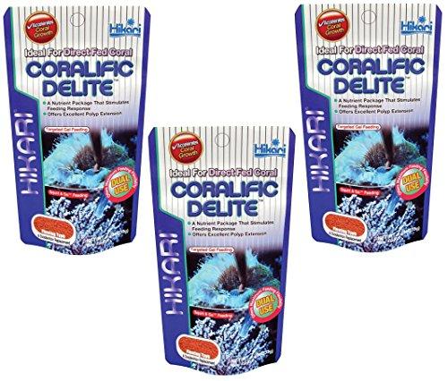 (3 Pack) Hikari Coralific Delite, 1.23 Ounce each