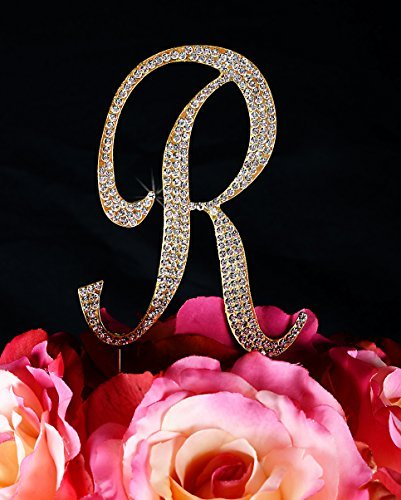 unik-occasions-sparkling-collection-crystal-rhinestone-monogram-cake-topper-letter-r-large-gold