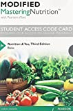 Modified MasteringNutrition with MyDietAnalysis with Pearson EText -- Standalone Access Card -- for Nutrition and You, Blake, Joan Salge, 0321960874