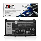 ZTHY New 357F9 Battery Replacement for Dell Inspiron 7000 Dump 15 7566 7567 7557 7559 5576 5577 INS15PD-1548B INS15PD-1548R INS15PD-1748B Series Gaming Laptop 0GFJ6 71JF4 11.1V 74Wh