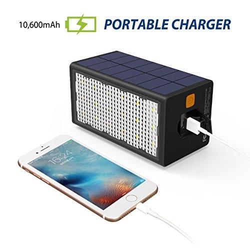 10600mah Externe Avec De Camping SolaireBigblue Batterie Lampe tQCshrxd