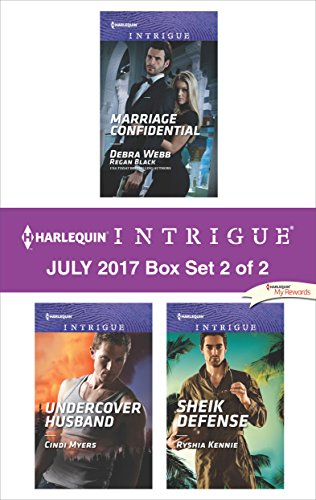 July Box (Harlequin Intrigue July 2017 - Box Set 2 of 2: Marriage Confidential\Undercover Husband\Sheik Defense)