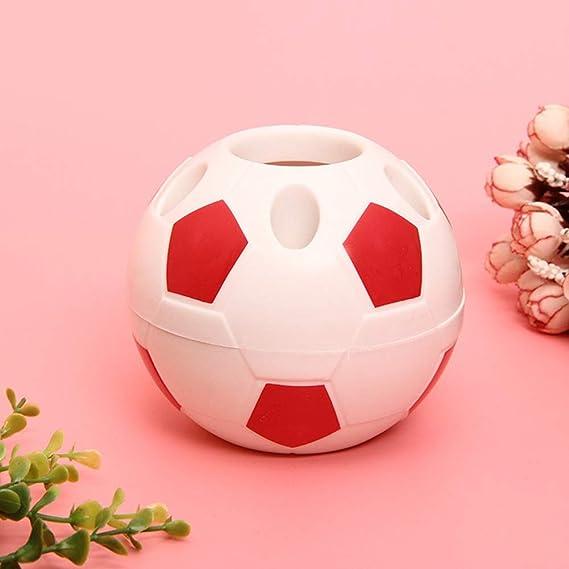 285dcd8cb549b Neborn - Portalápices creativo para niños con diseño de balón de fútbol