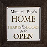 Cheap The Grandparent Gift Co.: Mimi & Papa Home Sign