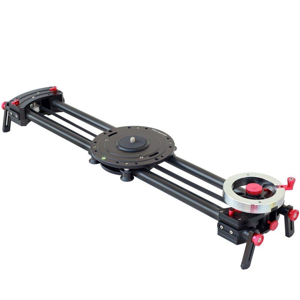 Proaim 2 ft Moonwalkプロフェッショナルカメラスライダ+ Flywheel For DSLRビデオFilm Cinemaビデオカメラ最大8 kg/17.6lb |アルミ+カーボンファイバーMade heavy-duty ultra-smoothポータブルスライダ+バッグ(sl-mnwk-00 )   B07CSN5LP5