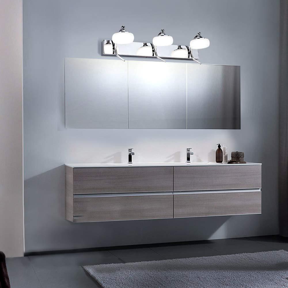 L/ámpara de Espejo Ba/ño LED,21W Impermeable IP44,1600LM,L/ámpara de Ba/ño,Luz de espejo de Ba/ño,Antiniebla para maquillaje