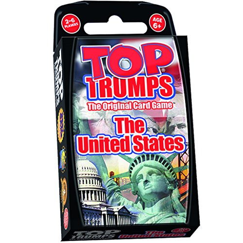 United States Top Trumps Card Game | Educational Card Games