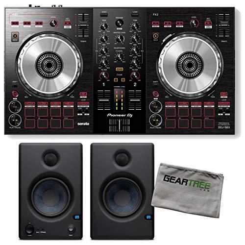 Pioneer DJ DDJ-SB3 2-Channel DJ Serato DJ Lite Controller w/