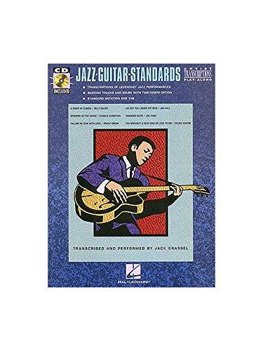 Hal Leonard Jazz Guitar Standards (Book/CD). Partituras, CD para ...