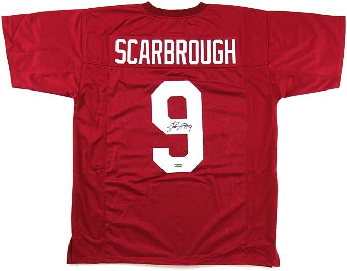 Bo Scarbrough Alabama Crimson Tide Football Jersey-Red