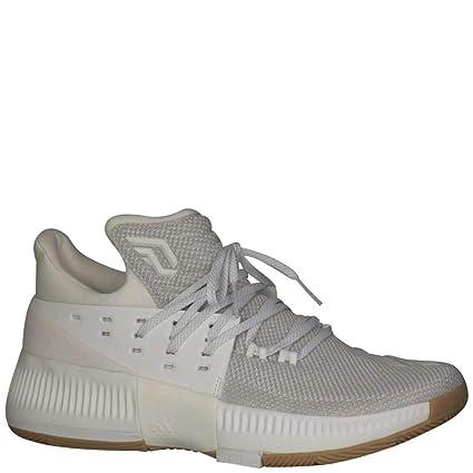 hot sale online d03d1 87526 adidasBB8271 - Dame 3 Hombres, (Blanco), 4 D(M) US