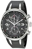 Oris Men's 67475877264RS TT3 Black Chronograph Dial Watch