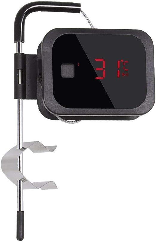 Compra Inkbird IBT-2X Bluetooth Digital Termometro Inalambrico con Sonda, Barbacoa Portatil/Horno/Parrilla/Carne Alimentación Cocina Electrónico, Android&iOs Temperatura Control Funcion (Termometro+1 Sonda) en Amazon.es